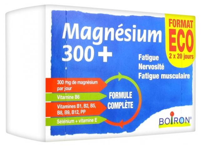 Boiron Magnésium 300+ boite 160 comprimés