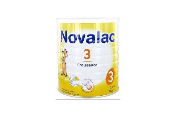 Novalac Croissance 3ème âge 800g - Lot de 2