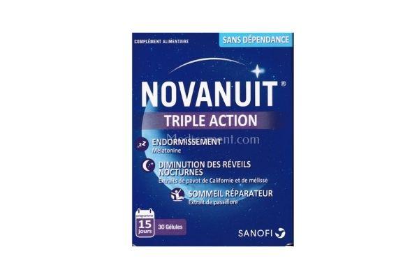 Novanuit Triple Action 30 comprimés