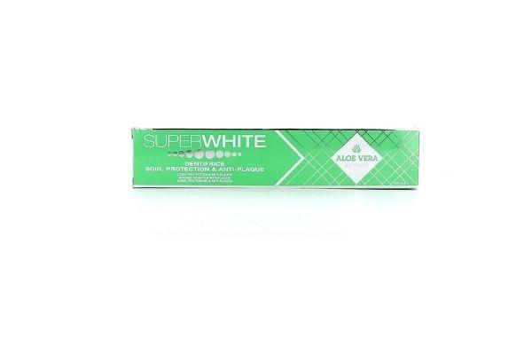 Superwhite dentifrice Aloé Vera 75ml et original 75ml
