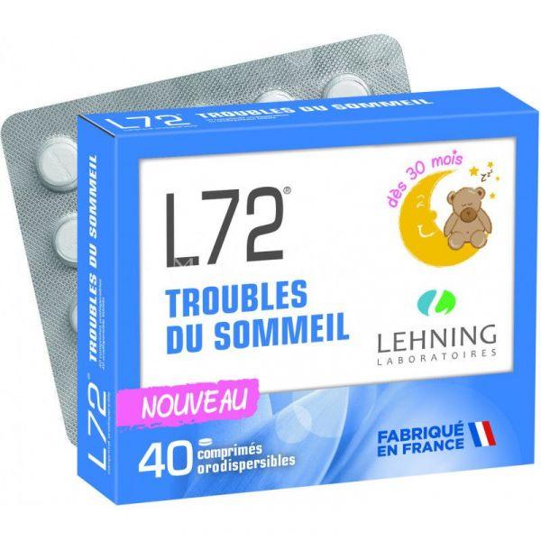 Lehning L72 40 comprimés